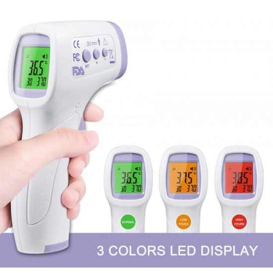 Ηλεκτρονικό θερμόμετρο υπερύθρων με οθόνη και χωρίς επαφή