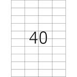 Ετικέτες Inkjet / Laser 52,5Χ29,7 100Φ
