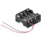 Μπαταριοθήκη για 8 μπαταρίες ΑΑ (Mignon), με καλώδια