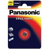 Μικροαλκαλική μπαταρία PANASONIC 1.5V