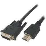 Καλώδιο HDMI αρσ.σε DVI αρσ.24+1 1.5m