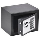 Χρηματοκιβώτιο Ασφαλείας Με Ηλεκτρονική Κλειδαριά Και Κλειδί 25x35 x25 cm