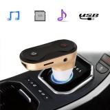 ΠομπόςFM Transmitter με Bluetooth και είσοδο USB/SD/AUX