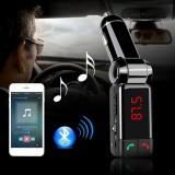 Πομπός αυτοκινήτου με οθόνη για τη μετάδοση μουσικής με USB mp3/WMA player, Bluetooth και φορτιστή
