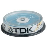 Cd-r Tdk 700MB Cake 10 τεμ.