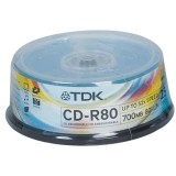 Cd-r Tdk 700MB Cake 25 τεμ.